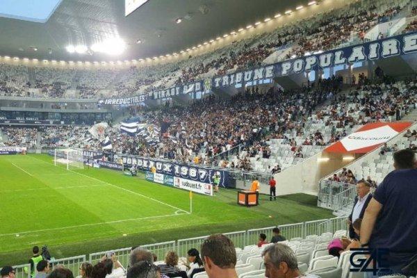 7e journée Ligue 1; 1ere mi-temps ( bordeaux 0 - 0 caen ) les girondins  etait fatigue ce soir.un match nul logique