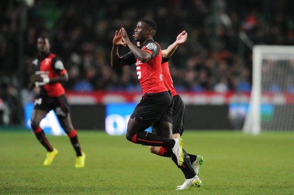 9e journée Ligue 1: 1 ere mi_temps (rennes 1 - boprdeaux 0) les bordelais joue petit bras