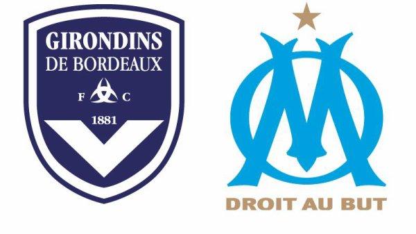 11e journée Ligue 1 ; 2eme mi_temps ( om 0 - 0 bordeaux )un bon match nul des girondins a marseille.