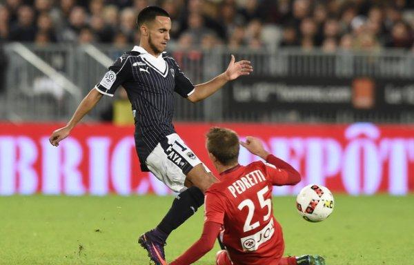 Girondins de Bordeaux : Blessure, suspension...Adam Ounas absent pour plusieurs matchs