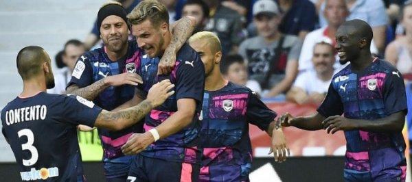 12e journée Ligue 1: 1ere mi-temps ( bordeaux 1 - 0 lorient )  bordeauix bien dans son match