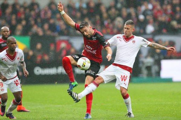 L1 : Guingamp s'arrache pour contrarier Bordeaux