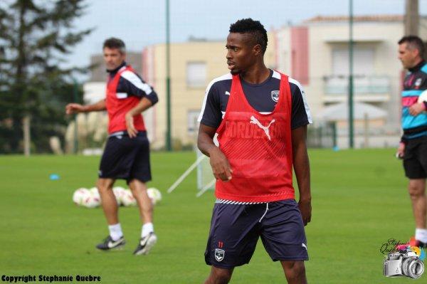 Le groupe pour Bastia sans Vada et Malcom