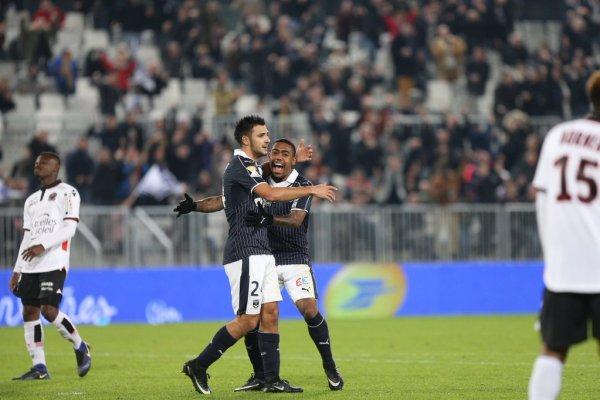 COUPE DE LA LIGUE 1/8 de finale ; 2eme mi-temps (bordeaux 3 - 2 nice) une tres belle victoire bravo.