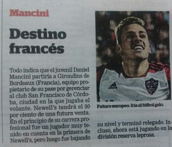 Daniel Mancini : arrivée imminente ?