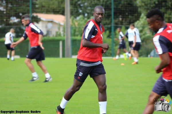 Le onze bordelais titulaire contre Angers