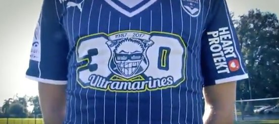 Un maillot collector pour les 30 ans des Ultramarines !