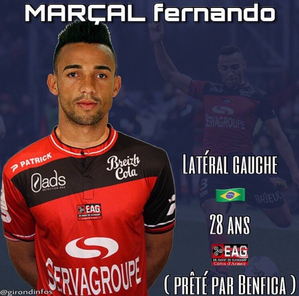 Fernando Marçal toujours dans le viseur de Jocelyn Gourvennec ?
