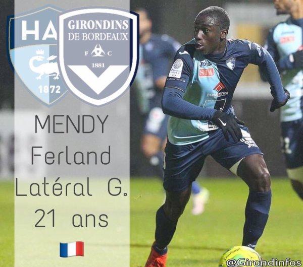 Ferland Mendy nouvelle priorité des Girondins