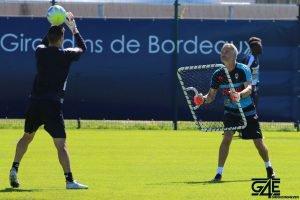 L'entrainement des gardiens au lendemain de Bordeaux-Pau