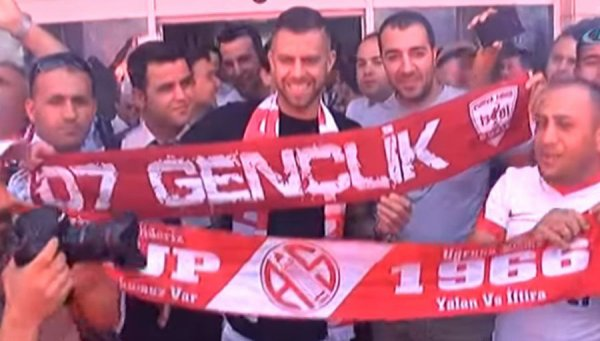 Antalyaspor: Ménez dans la tourmente ?
