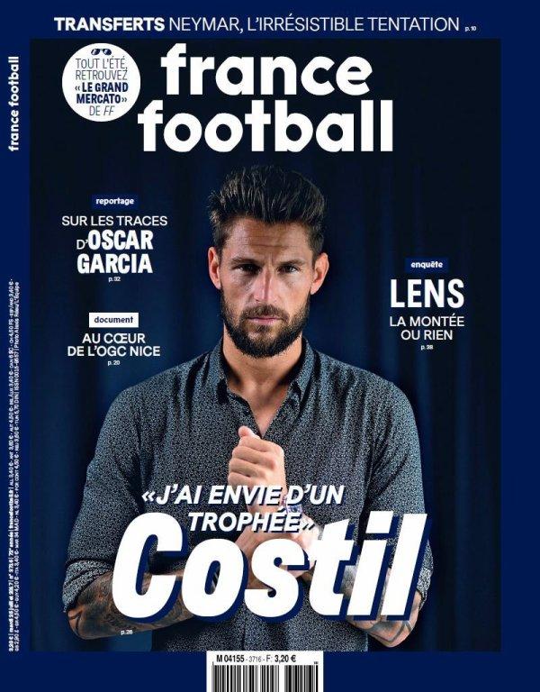 """Benoît Costil : """"C'est mon jeu, j'aime jouer, repartir de derrière, j'aime le foot, me faire plaisir"""""""