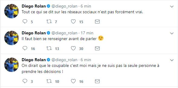"""Diego Rolan : """"On dirait que le coupable c'est moi !"""""""