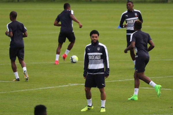 En images. Girondins : les premiers pas de Cafu et Otavio à l'entraînement
