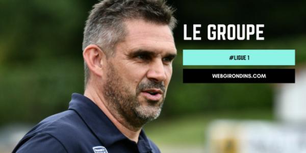 LOSC FCGB - Le groupe bordelais pour Lille