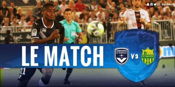 Ligue 1 Dimanche 15 octobre 2017 Journée 9      Malcom47'      45'+2Nakoulma  1-1 Bordeaux Nantes
