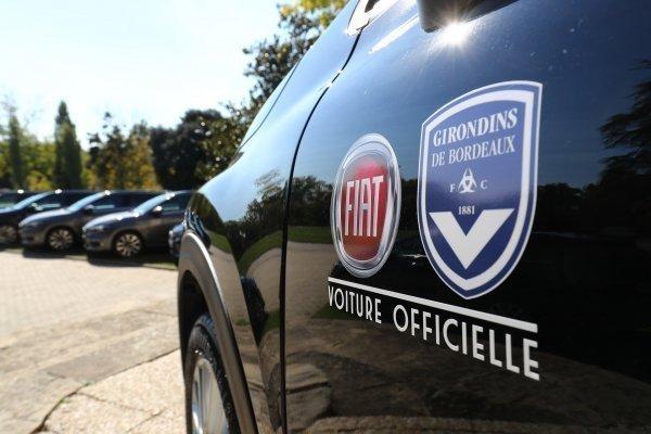 """Fiat et les Girondins, """"un partenariat ou les deux parties semblent pour l'instant gagnantes"""""""