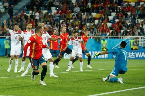 Cm 2018 - groupe B Coupe du monde 2018, groupe B : l'Espagne termine en tête, malgré son nul contre le Maroc (2-2)