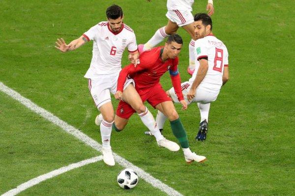 CM 2018 Gr. B Le Portugal accroché par l'Iran mais qualifié pour les huitièmes
