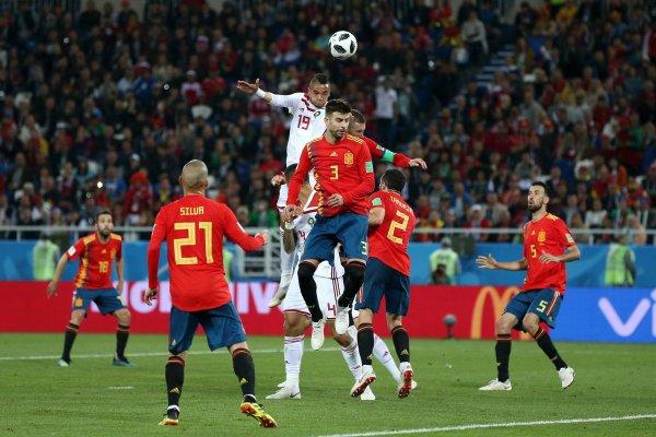 CM 2018 Gr. B L'Espagne arrache le nul contre le Maroc et se qualifie pour les huitièmes