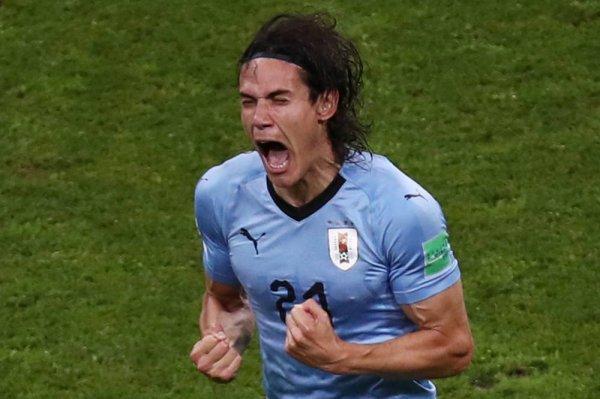 CM 2018 - Huitièmes Coupe du monde, huitièmes : Edinson Cavani, auteur d'un doublé contre le Portugal (2-1), envoie l'Uruguay en quarts
