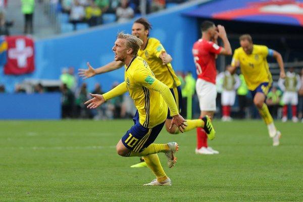 CM 2018 La Suède élimine la Suisse et se qualifie pour les quarts de finale de la Coupe du monde