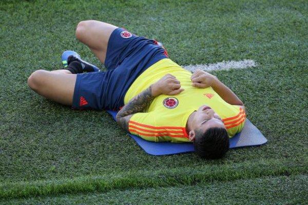 CM 2018 COL James Rodriguez ne joue pas contre l'Angleterre