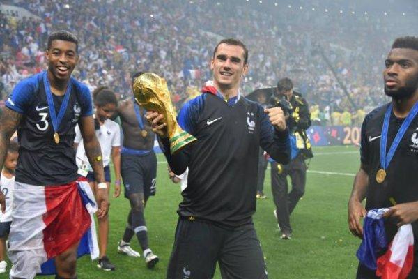 Antoine Griezmann (Bleus) après la victoire en Coupe du monde : «On entre dans l'histoire»