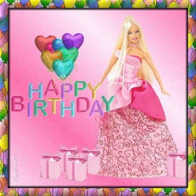 Joyeux Anniversaire Barbie I Love Big Time Rush