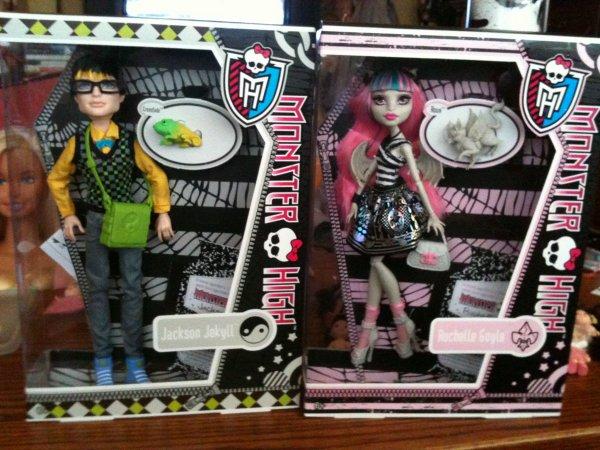Mes nouvelles Monster High