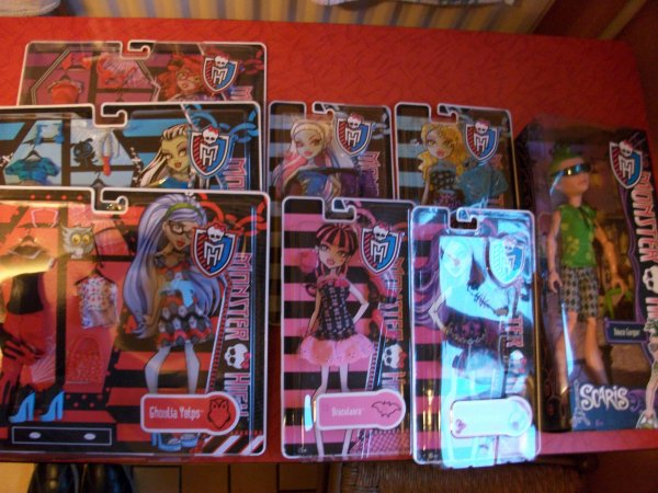 My New Monster High Dolls