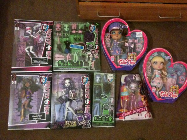 My New Monster High Dolls (Part 2)