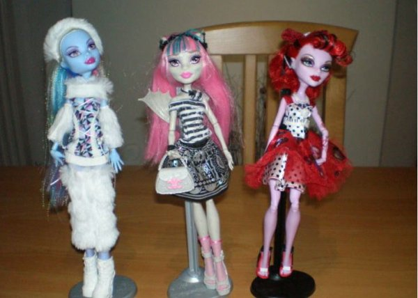 Dernier Achat : Monster High LOT !!!