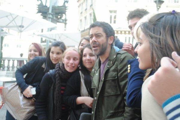 Rencontre avec Manu Payet à Paris