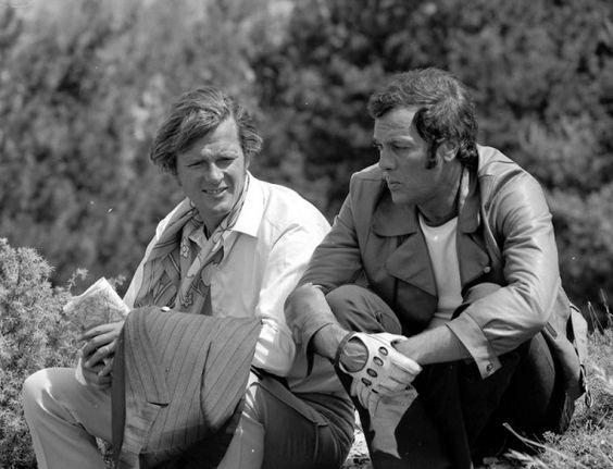 TONY CURTIS dans les Années 1970...  THE PERSUADERS!