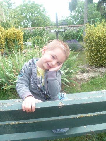 Mon fils Enzo (3 ans)