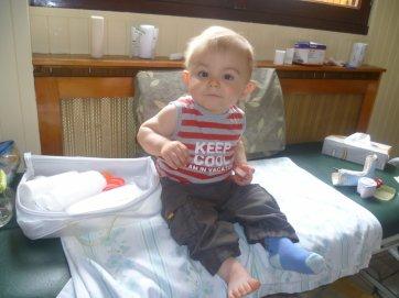 mon fils (Mathys) 11 mois 1/2