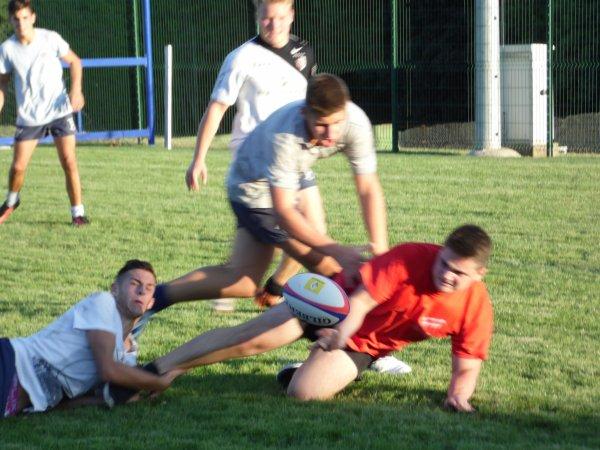 Photos du premier entrainement avec les juniors du R.O.Castelnaudary XV suite