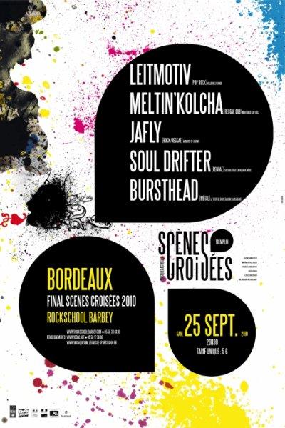 Prochain concert, le samedi 25 septembre à la Rock School Barbey, Bordeaux!