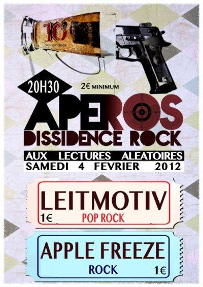 Prochain concert, le samedi 4 février aux Lectures Aléatoires (ex-Cave Belge), Bordeaux!