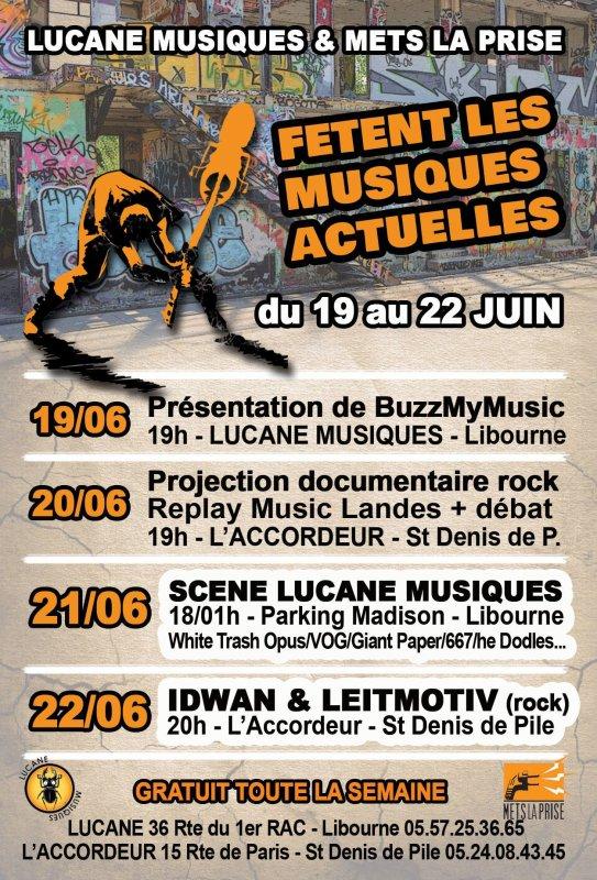 Prochain concert, le samedi 22 juin à l'Accordeur, Saint-Denis-de-Pile!
