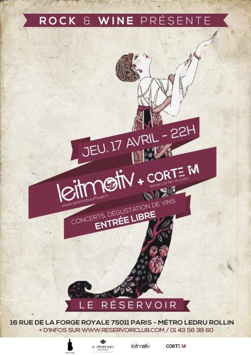 Prochain concert, le jeudi 17 avril au Réservoir, Paris!