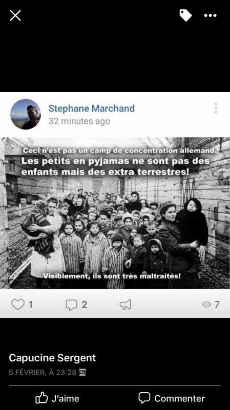 Stéphane Marchand le négationniste