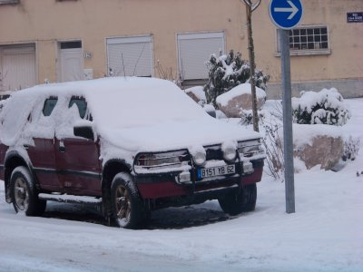 la neige la neige la neige.................