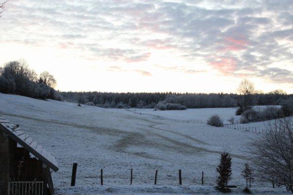 Arc Sous Montenot réveil sous la neige février 2016