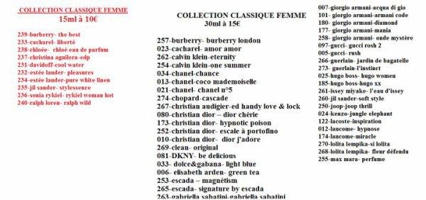 Liste parfum 2