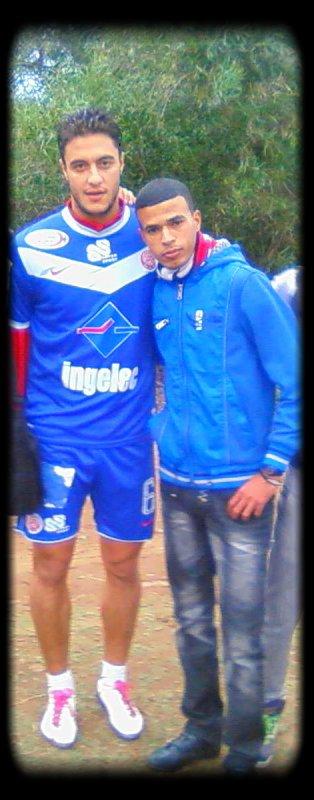 Moi Et  Mohamed Barakate