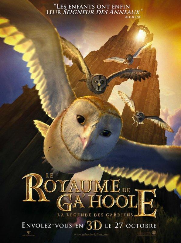 Vidéothèque : Le Royaume de Ga'Hoole - La Légende des Gardiens
