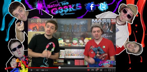 Instant Podcast : Salut les Geeks