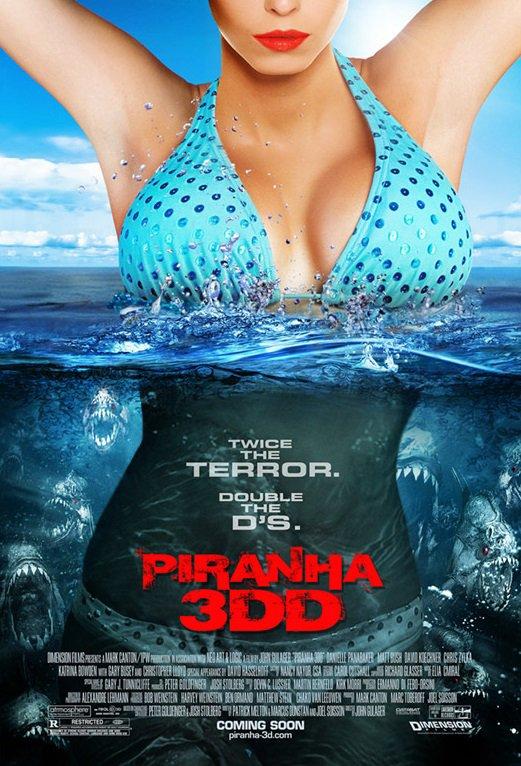Vidéothèque : Piranha 3DD